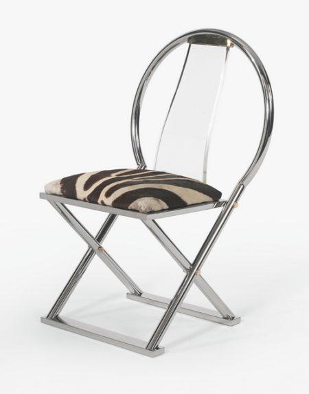 Karl Springer - X-Base Chair-1980