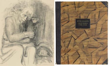Kathe Kollwitz-Abschied und Tod-1923