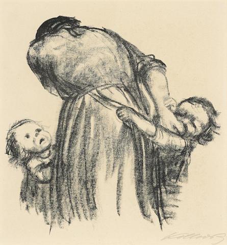Kathe Kollwitz-Brot-1924