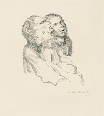 Kathe Kollwitz-Zuhorende-1927