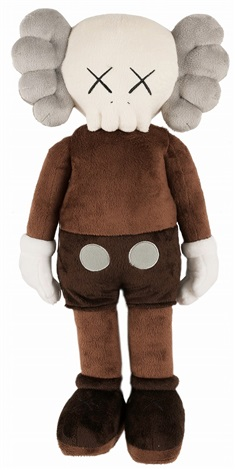 KAWS-COMPANION PLUSH DOLL CLEAN SLATE-2015