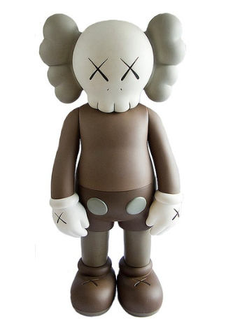 KAWS-Companion (Five Years Later) Brown-2004
