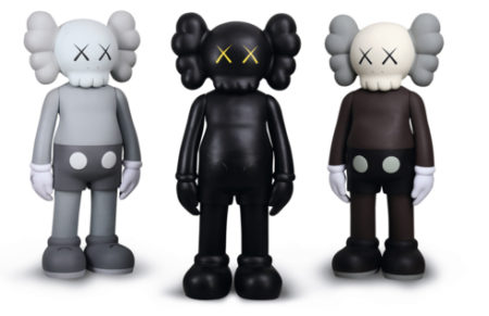 KAWS-Five Years Later Companion (Brown, Black & Grey)-2007