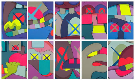 KAWS-Ups and Downs-2013