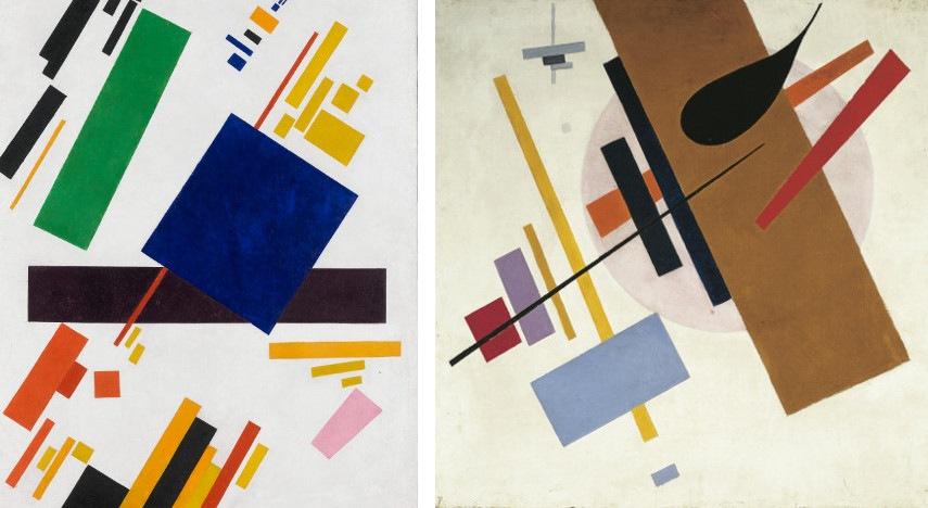 new abstract 1935 painter style soviet