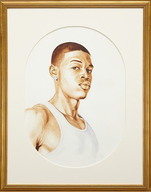 Kehinde Wiley-Charles I (Study)-2006