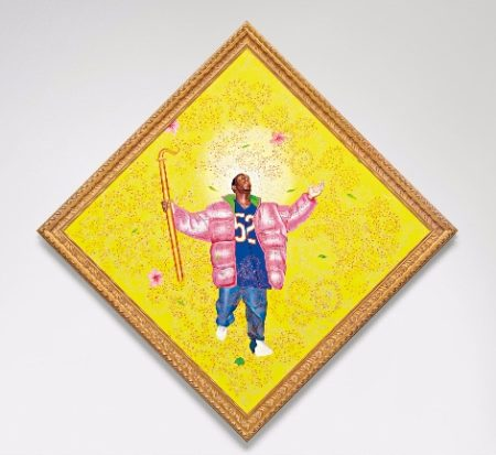 Kehinde Wiley-Easter Realness #7-2004
