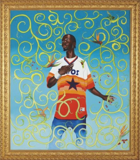 Kehinde Wiley-Female Prophet Anne, Samuel's Mother-2003