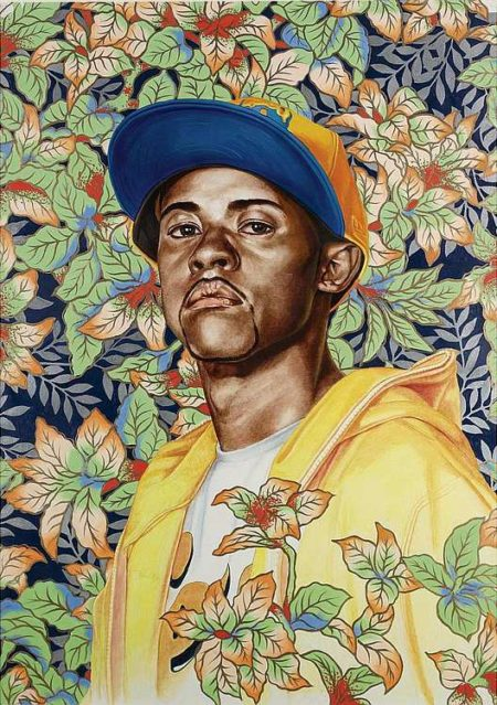 Kehinde Wiley-Jerry I (Study)-2008