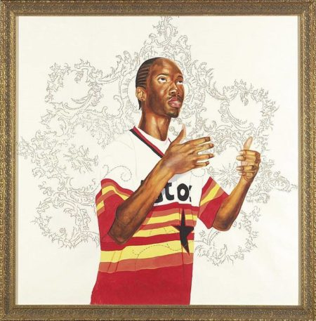 Kehinde Wiley-Passing/Posing (Infinity Mobility)-2003