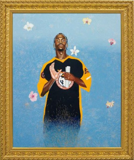 Kehinde Wiley-Passing/Posing (Santus Phillipus A)-2004