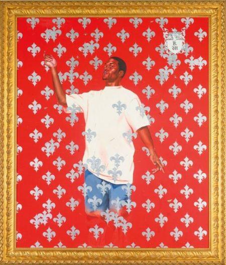 Kehinde Wiley-Passing/Posing: Series #2-2004
