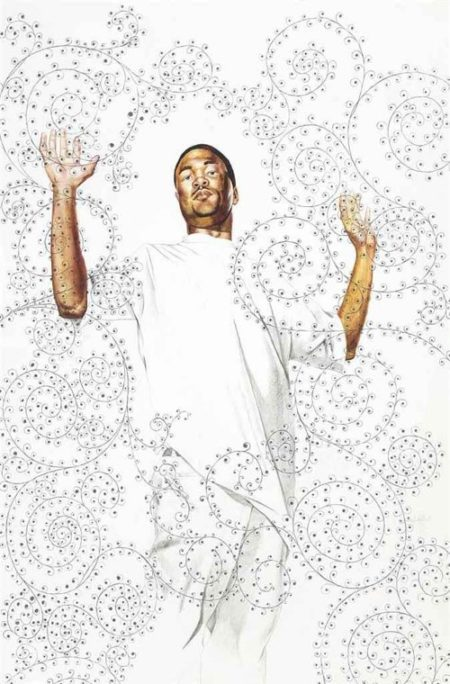 Kehinde Wiley-Passing Posing (The Martyrdom of St Symphorian) Study-2004