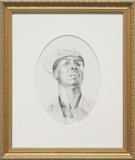 Kehinde Wiley-St. John the Baptist II (Study)-2006