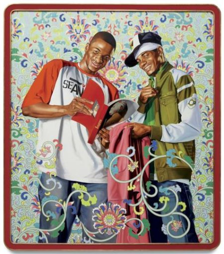 Kehinde Wiley-Support the Army and Look After the People-2007