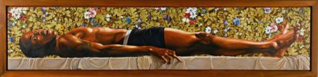Kehinde Wiley-The Dead Christ in the Tomb-2007