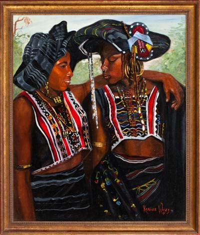 Kehinde Wiley-Untitled-1993