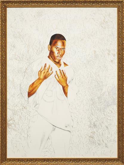 Kehinde Wiley-Untitled-2005