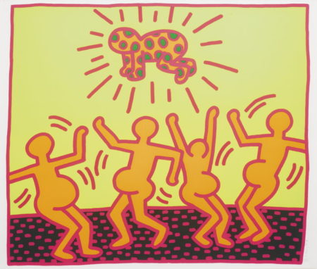 Keith Haring-Untitled (Littmann Pg. 31)-1983