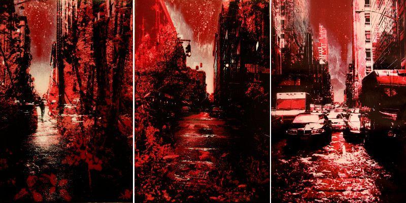 Kenji Nakayama - Concrete Jungle series, 2008