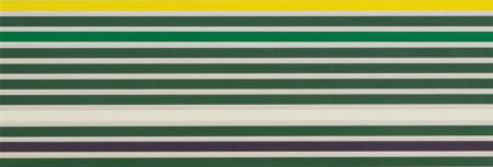 Kenneth Noland-Shadow Line-1968
