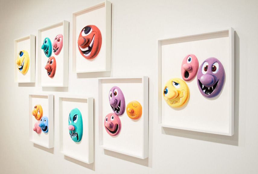 Kenny Scharf - Pace Prints, 2014 angeles museum gallery times