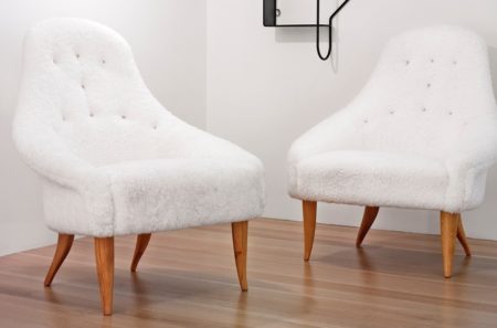 Kerstin Horlin-Holmquist - Pair Of Lilla Eva Easy Chairs-1958