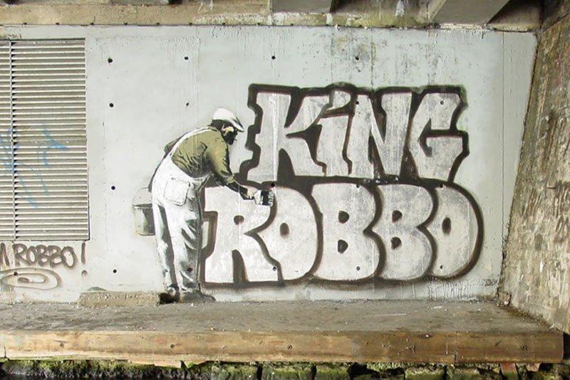 King Robbo - 25 December 2009, Camden, London
