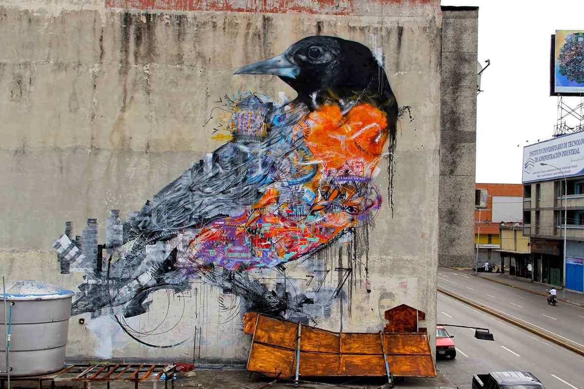 south american urban artists 10 best street art names widewalls bird mural street art