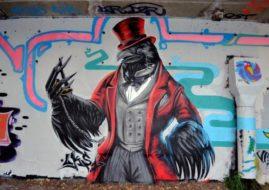 Street Art Festival Grenoble, France
