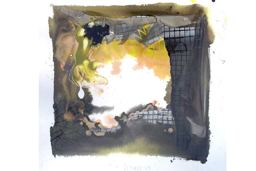 Larry Bell - New Fraction, #216, 2003. Image via maxkansascity.org