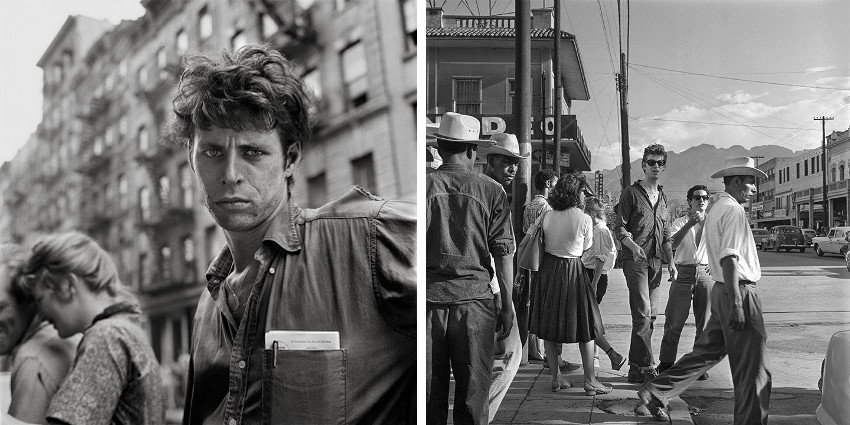 Larry Fink new books and music were shown in gallery - museum in recent years