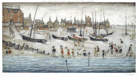 Laurence Stephen Lowry-Deal Beach-1973