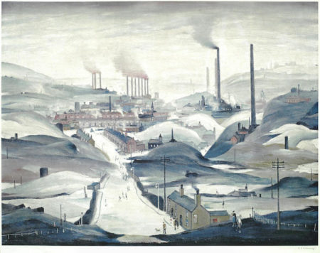 Laurence Stephen Lowry-Industrial Panorama-