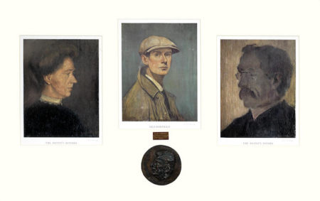 Self Portrait, The Artist's Mother, The Artist's Father-