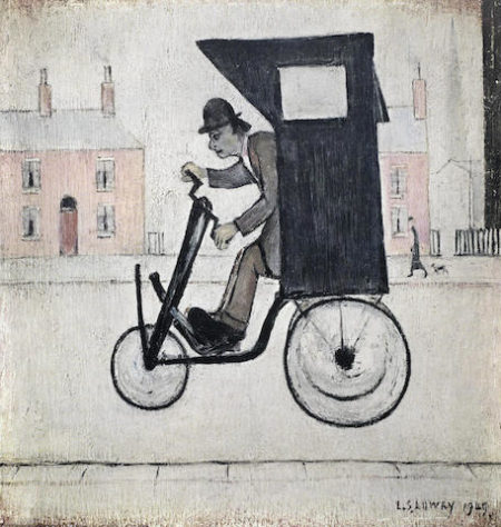 Laurence Stephen Lowry-The Contraption-