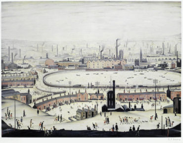 Laurence Stephen Lowry-The Pond