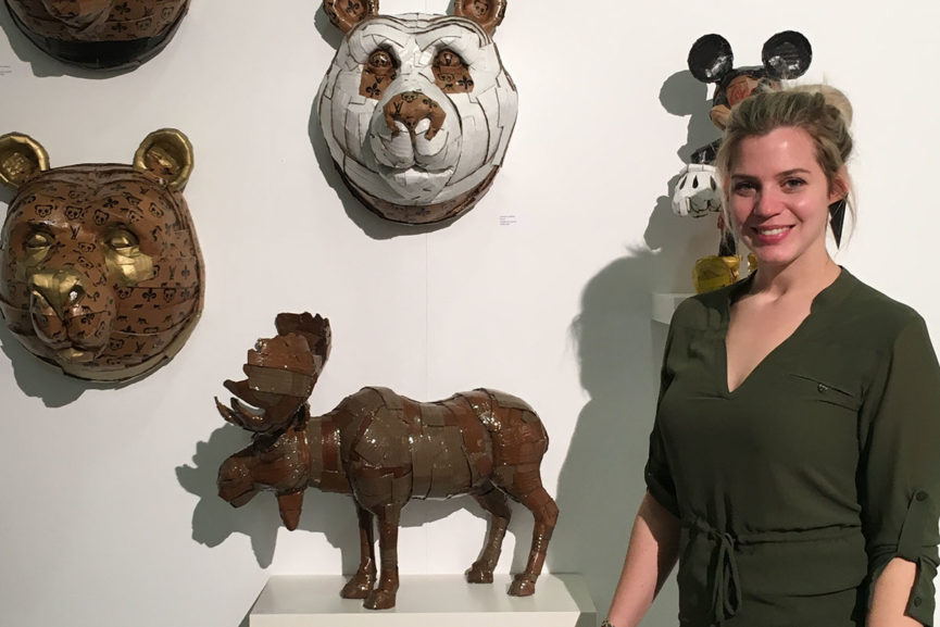 The Magic of Cardboard Sculptures - Laurence Vallieres in an Interview
