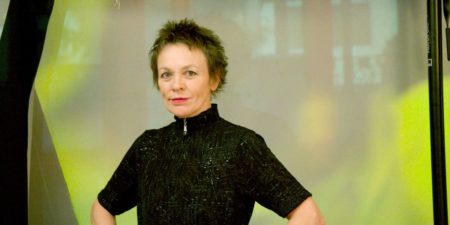 Laurie Anderson - A Photo of the Artist - Image via pomegranateartscom music album