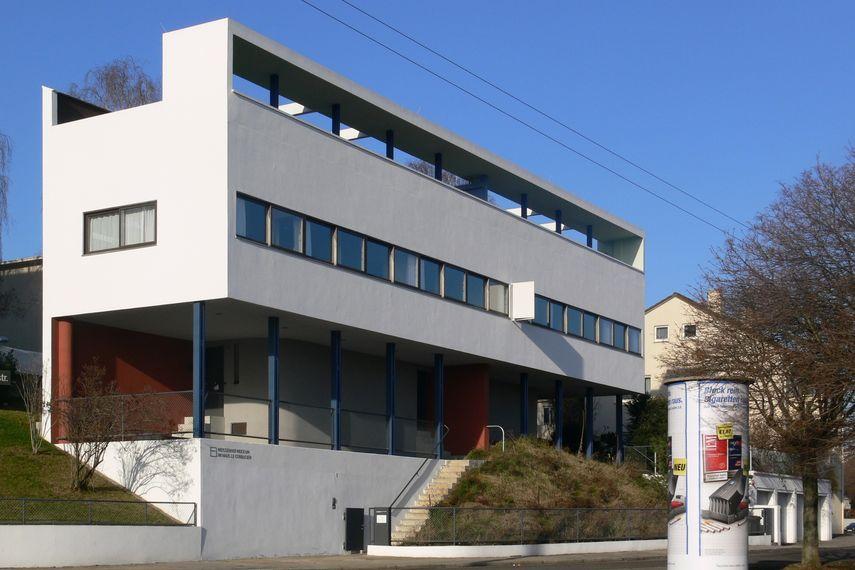 Le Corbusier - Haus in Weissenhof, 1925 - image via wikimedia