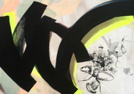 Lea Gudrich - BothCount, acrylic on canvas, 2015