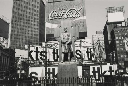 Lee Friedlander-Nyc (Father Duffy)-1974