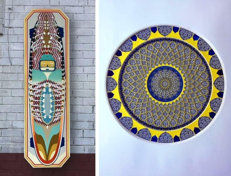 Ghost Board, Untitled, Study Fahan
