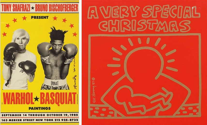 Basquiat Paintings, 1985, A Very Special Christmas, 1987