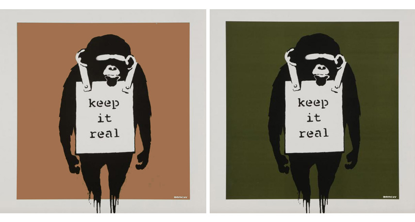 Graphic, creative illustration created in Banksy's best style that convey his policy
