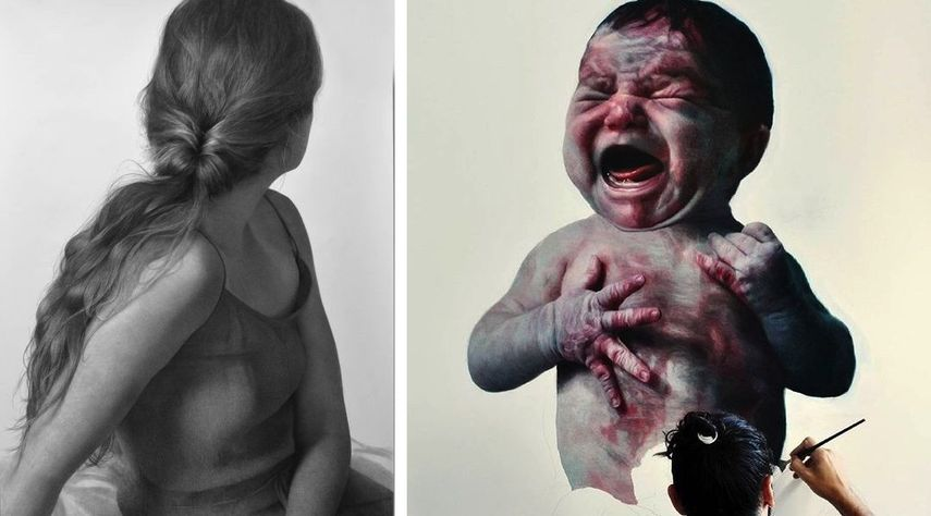 Clio Newton - Grace, Eloy Morales - Floating Baby II