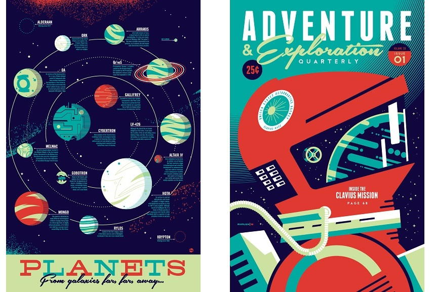 variant of limited print edition poster and screenprint variant of cyclops are artist home edition works