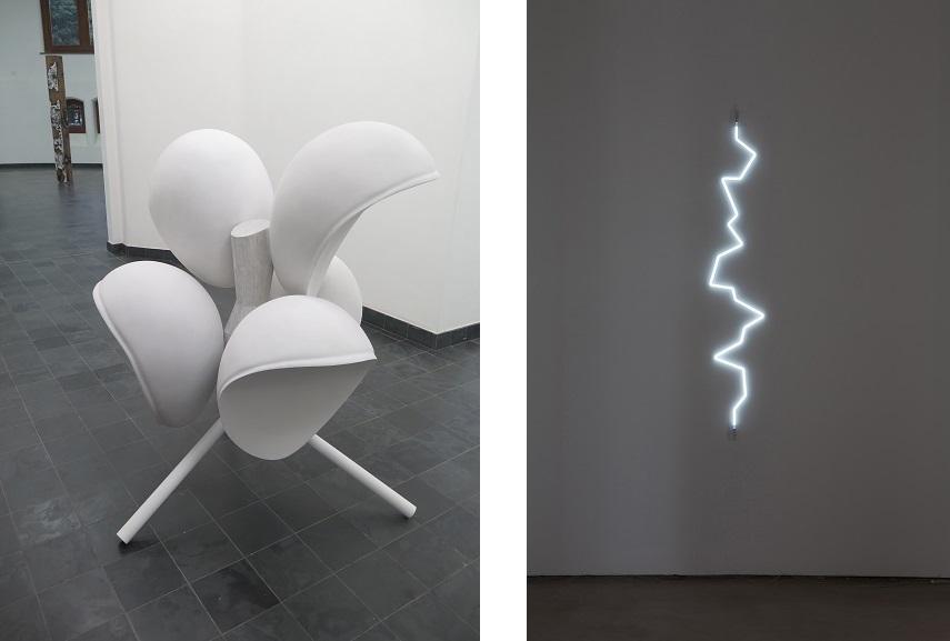 Left Elleke Frijters Right Galerie Cedric Bacqueville