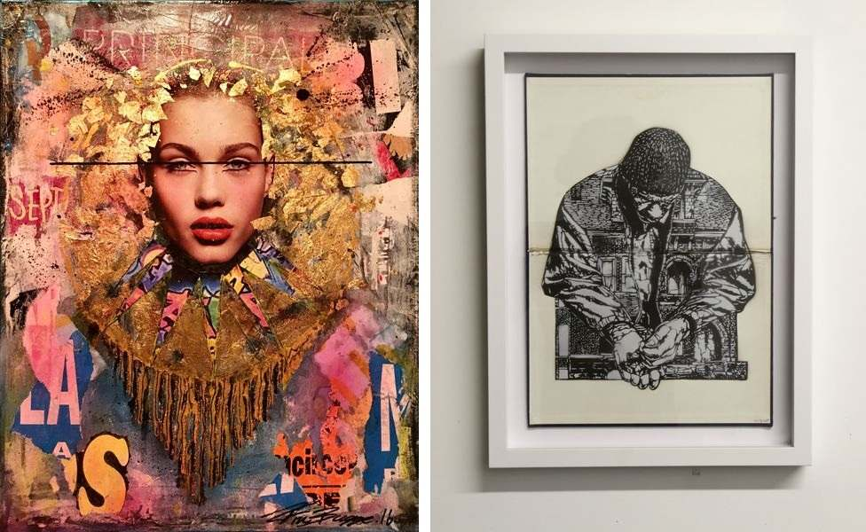 the press has also covered these pieces in the past in the robert oakland gallery
