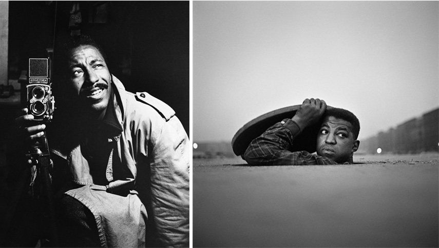 Left Untitled, ca 1948 Right The Invisible Man, Harlem, New York, 1952